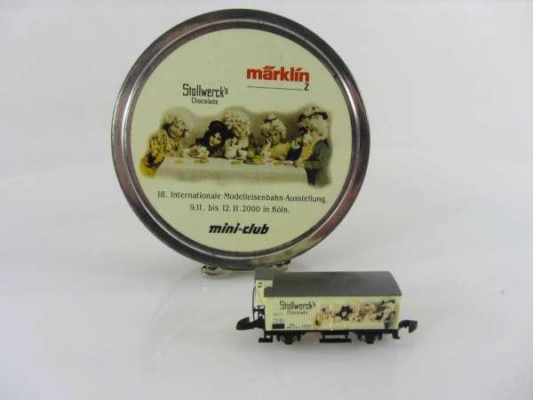 Märklin 80210 Stollwerk Schokolade G10 Neu und originalverpackt mit Dose