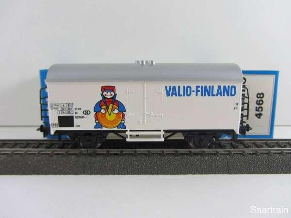 Märklin 4568 Kühlwagen Valio Finland Belgien neuwertig mit Originalverpackung