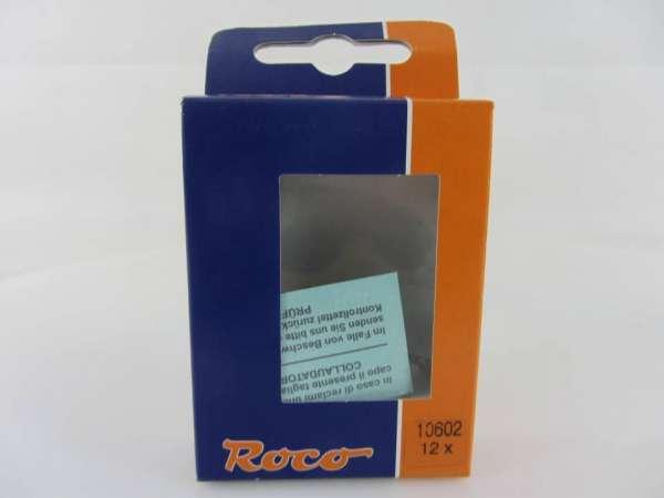 ROCO 10602 Kabelverbinndungsplättchen 12 Stück, neuwertiger Zustand