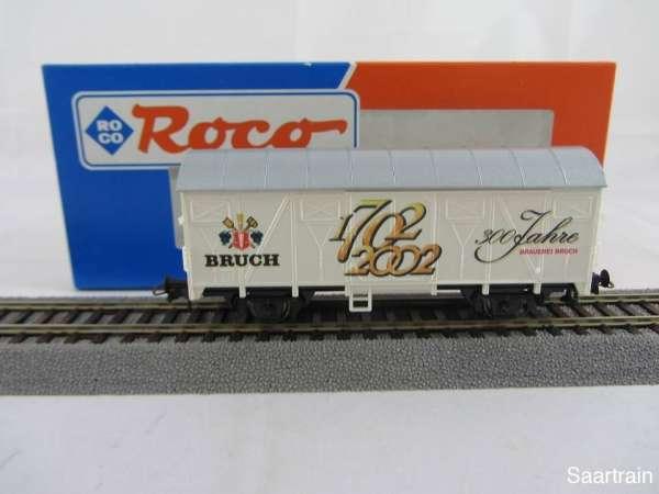 Basis ROCO Bierwagen mit Beschriftung 300 Jahre Bruch Bier Neu mit Verpackung