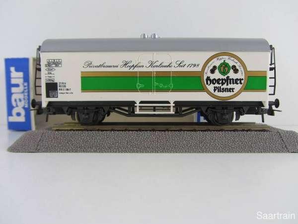 Baur Nr. 186 HO Bierwagen Hoepfner Bier weißgrundig Neu mit Originalverpackung
