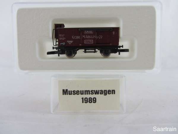 Märklin Spur Z Museumswagen 1989 Gebr. Märklin neuwertig m. Originalverpackung