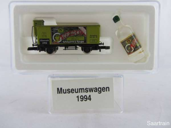 Märklin Spur Z Museumswagen 1994 Göppinger Wasser neuw. mit Originalverpackung