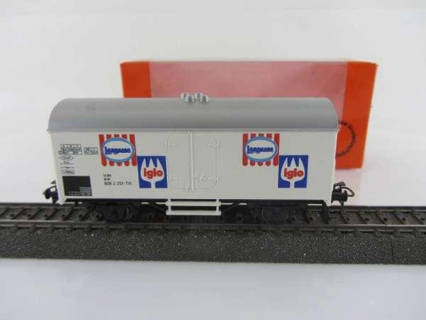 Primex 4557 Kühlwagen Langnese / iglo mit Originalkarton guter Zustand