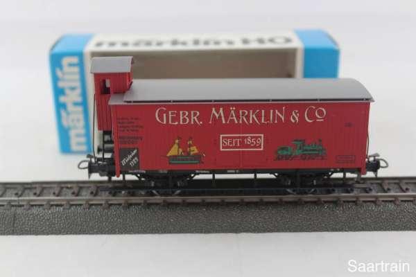 Märklin Museumswagen 1989 Gebr. Märklin Göppingen G10 mit Originalverpackung