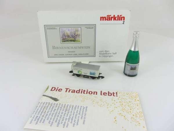 Märklin Sondermodell 80953 G10 Birneneschaumwein zum 4.Modellbahntreff mit OVP