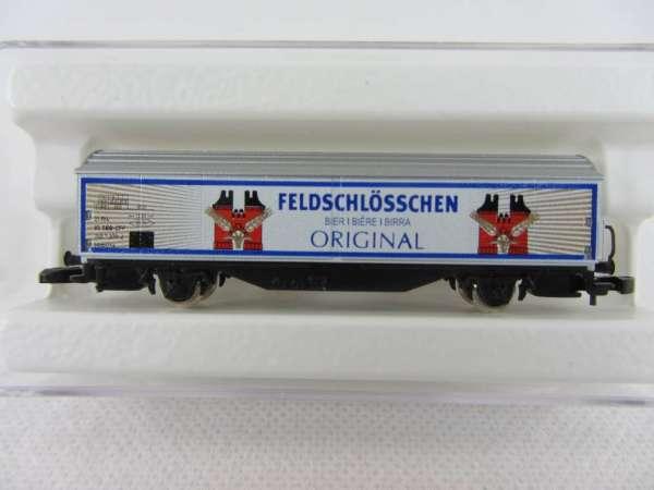 Basis 8656 Schiebewandwagen Habis Feldschlösschen Schweiz Bierwagen SBB m. OVP