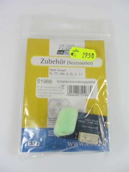 ESU 51966 Schleiferumschaltplatine neu und originalverpackt