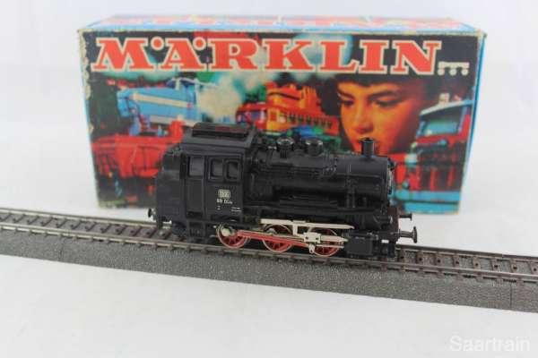 Märklin 3000 Dampflok Br 89 006 der Deutschen Bundesbahn in schwarz mit OVP