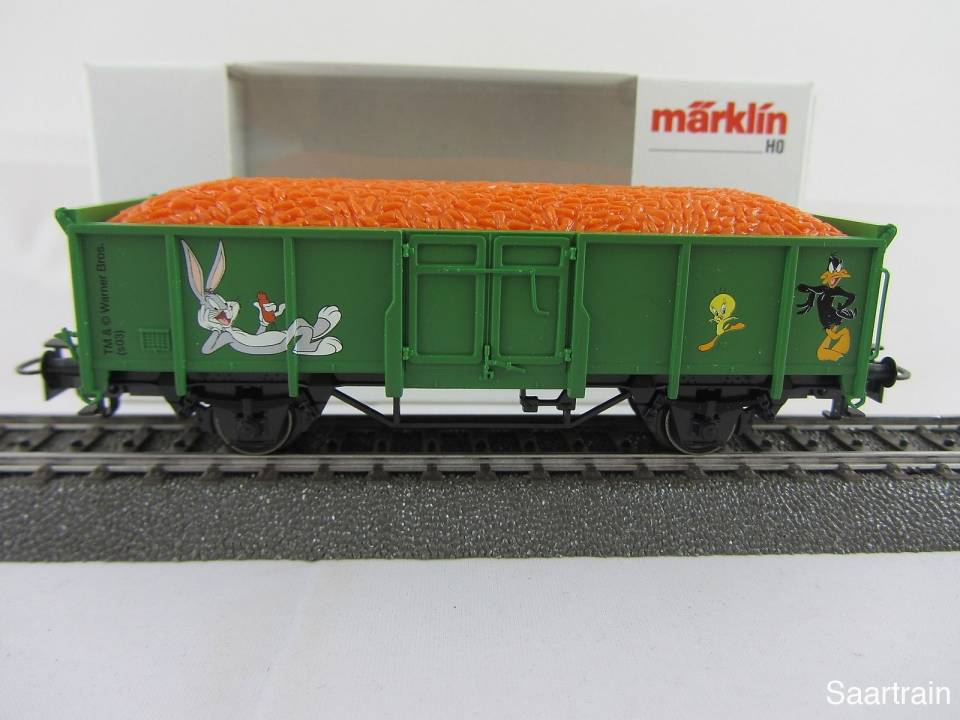 Märklin 44242 1.FC Märklin Jahreswagen 2003 offener Güterwagen Neu und mit OVP