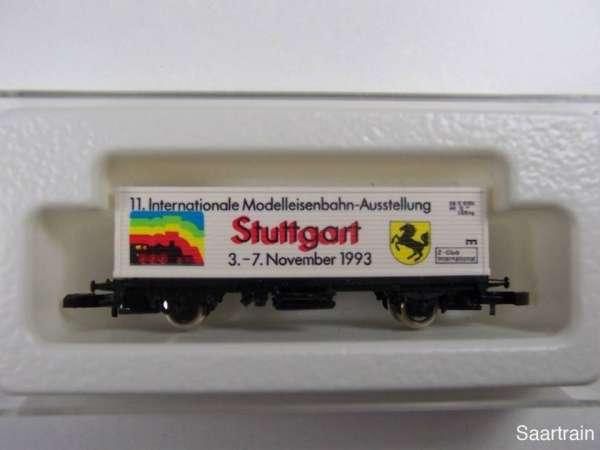Märklin 8615 Containerwagen Modellbahnausstellung Stuttgart 1993 mit OVP