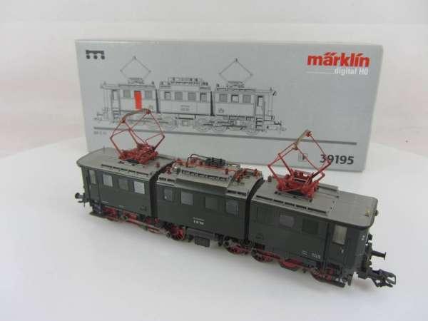 Märklin 39195 Elektrolokomotive BR E 91 100 der DB grün Digital Sound mit OVP