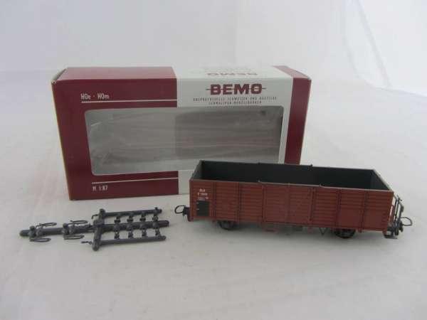 Bemo 2251 118 2-achsiger Hochbordwagen 6618 der RHB, im Neu-Zustand mit OVP