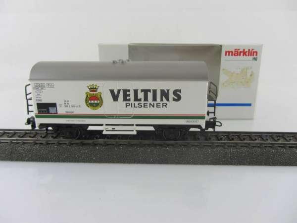 Märklin 4416 Bierwagen Veltins Pilsener neuwertig und mit OVP