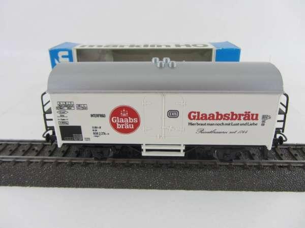 Basis 4415 Bierwagen Glaabsbräu Privatbrauerei Sondermodell neuwertig und mit OVP
