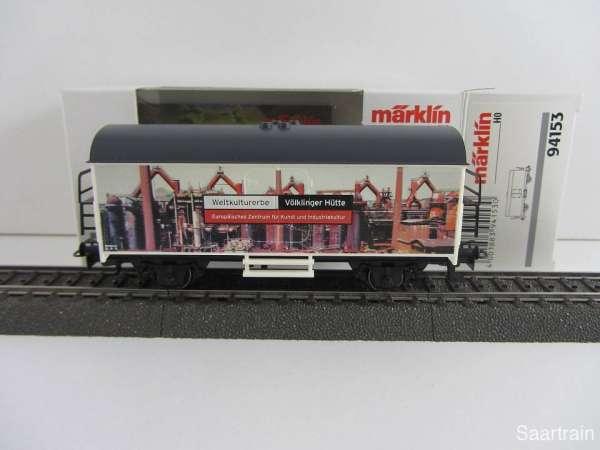 Märklin 94153 Kühlwagen Völklinger Hütte Neu und mit Originalverpackung
