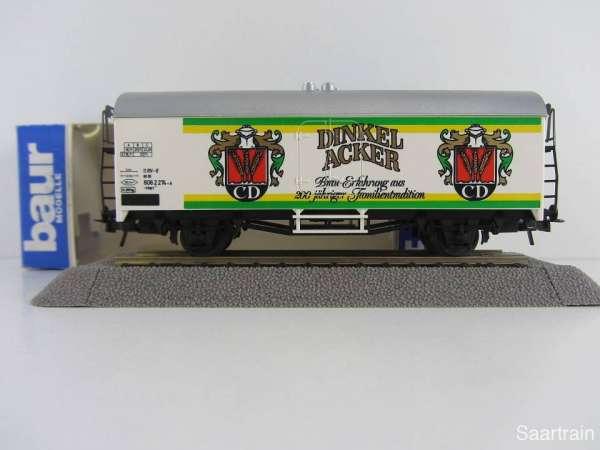 Baur Nr. 104 HO Bierwagen Dinkelacker Bier weiß Neu mit Originalverpackung