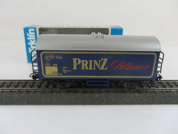 Märklin Basis 4415 Bierwagen Prinz Pilsener SOMO mit OVP