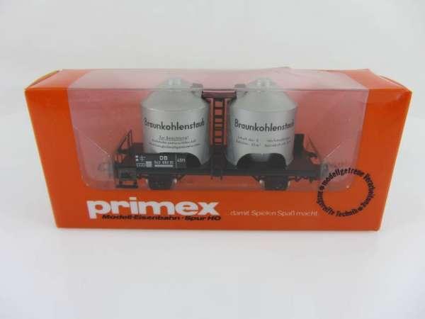 Primex 4551 Braunkohlenstaubwagen mit Originalkarton, neuwertig, ungeöffnet