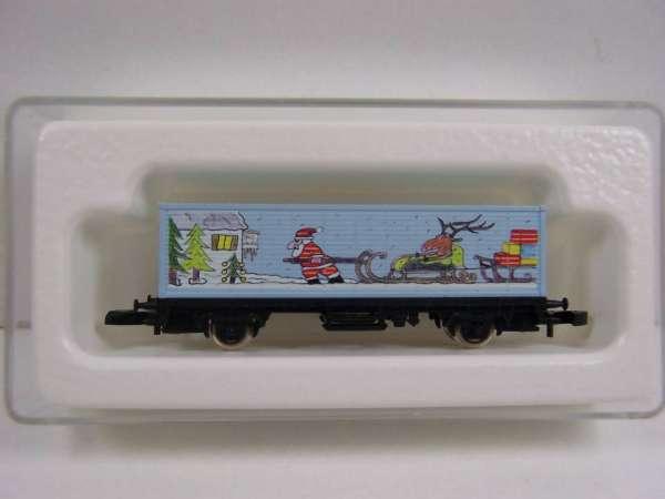 Märklin 8615 Containerwagen Sondermodell Weihnachtswagen 2000 für Mitarbeiter
