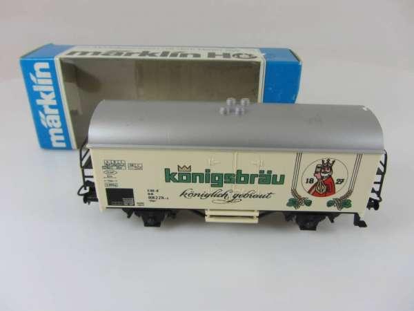 Märklin Basis 4415 Bierwagen Königsbräu Sondermodell mit OVP, leicht verblasst