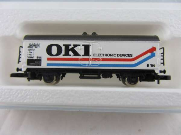 Märklin 8600 Kühlwagen Sondermodell OKI Elektronik mit Originalverpackung