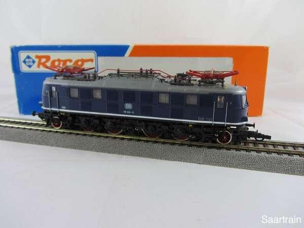 ROCO 43431 DB 118 024 9 blau 3 Leiter Gleichstrom sehr guter Zustand mit OVP