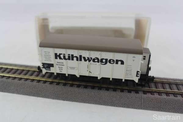 Fleischmann 5346K Kühlwagen der DR guter Zustand mit Originalverpackung