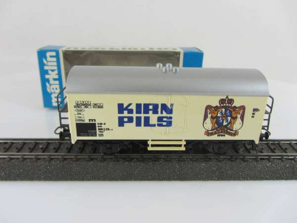 Märklin Basis 4415 Bierwagen Kirner Pils weiss, verblasst, Sondermodell mit OVP
