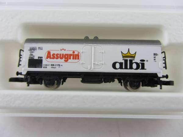 Märklin 8600 Kühlwagen Sondermodell Assugrin Albi mit Originalverpackung