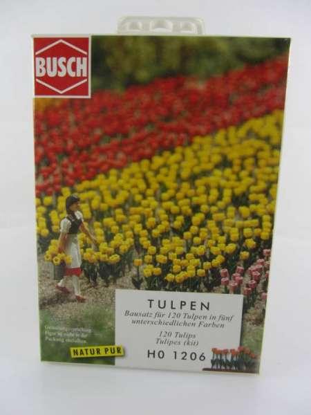 Busch HO 1206 Tulpen 1:87 neu mit OVP