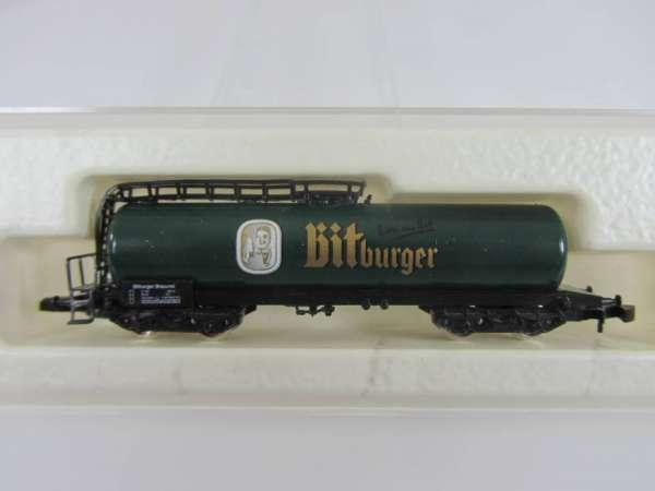 8626 Kesselwagen Sondermodell Bitburger dunkelgrüner Kessel Bierwagen mit OVP