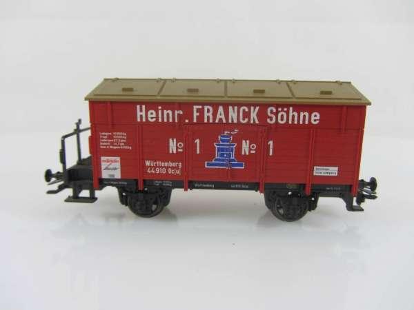 Märklin Insiderwagen 1996 46969 Güterwagen Heinr. Franck Söhne, gebraucht