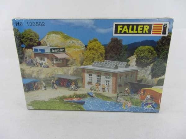 Faller 130502 Bausatz 1:87 HO Campingplatz Ergänzungset neu mit OVP