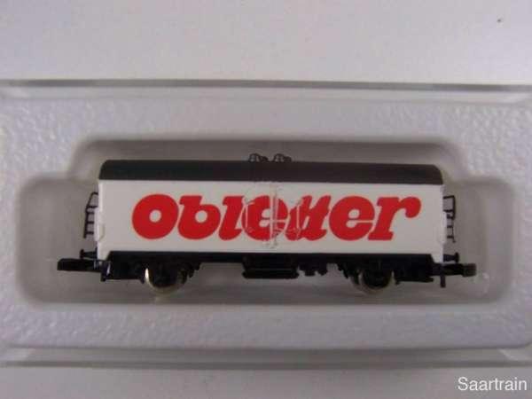 Märklin 8600 Kühlwagen Sondermodell Obletter neuwertig mit Box