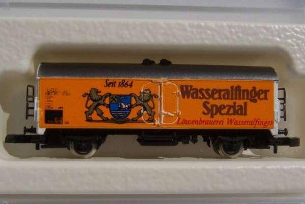 Märklin 8600 Bierwagen Wasseralfinger Spezial seit 1864 m. Originalverpackung