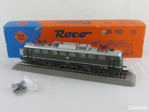 ROCO 43429 Elektrolok Br E 150 100 6 der DB in grün guter Zustand mit OVP