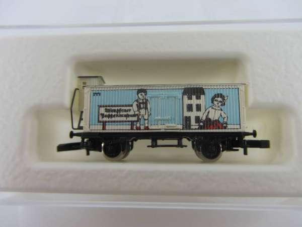 Märklin 8661 Güterwagen G10 mit Bremserhaus Puppenmuseum Bad Wimpfen mit OVP