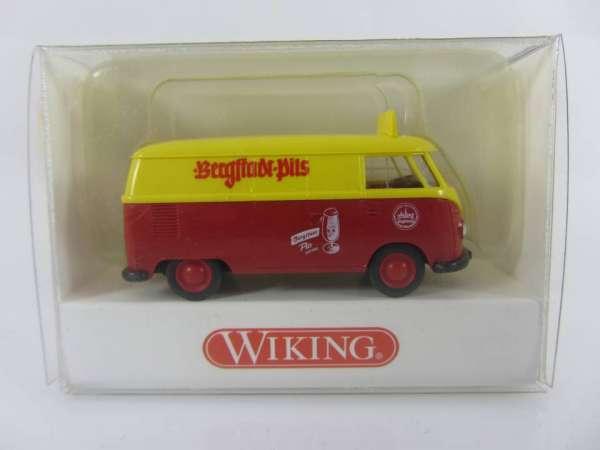 Wiking 797023 HO 1:87 VW T1 mit Werbung, neu und mit OVP