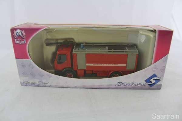 1:50 Solido 3152 Feuerwehr Renault Premium Distribution Citerne