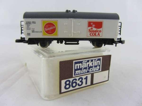 Märklin 8631 Kühlwagen Sinalco Cola, sehr guter Zustand mit Verpackung