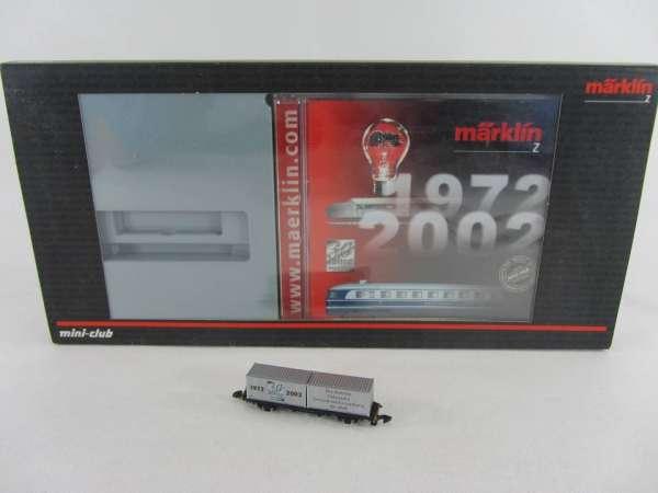 Märklin 82362 Containerwagen 30 Jahre Mini-Club mit CD und Originalverpackung