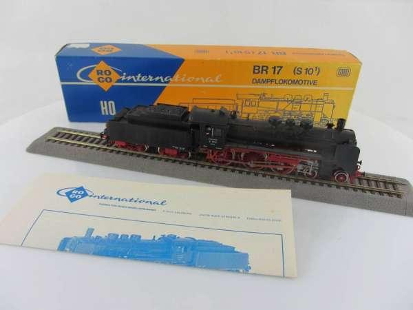 ROCO 04115A Dampflokomotive BR 17 1137 der DR gebraucht mit OVP