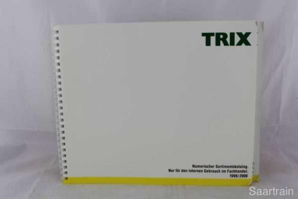 "Trix ""Sortimentskatalog für den Fachhandel 1999/2000"""