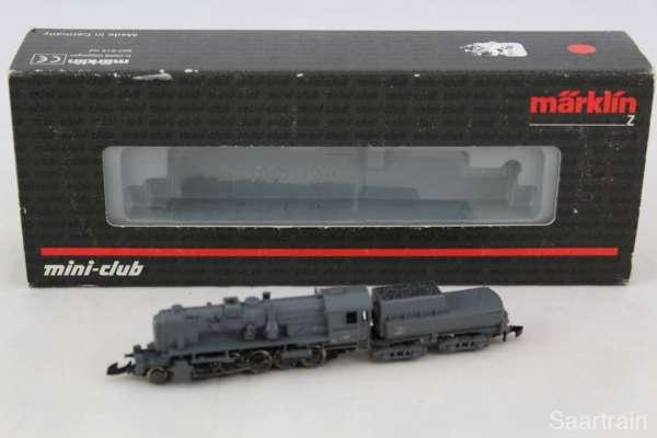 Märklin 88040 Dampflok Br 42.90 in grau, guter Zustand und originalverpackt