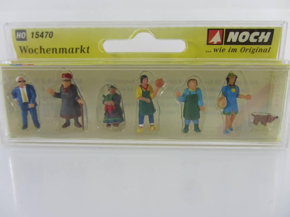 neu Wochenmarkt 7 Figuren Noch H0 15470 OVP