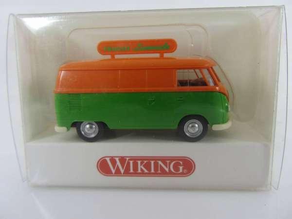 Wiking 797016 HO 1:87 VW T1 mit Werbung, neu und mit OVP