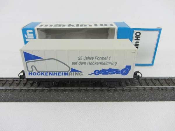 Märklin Basis 4481 Containerwagen Sondermodell Hockenheimring mit OVP