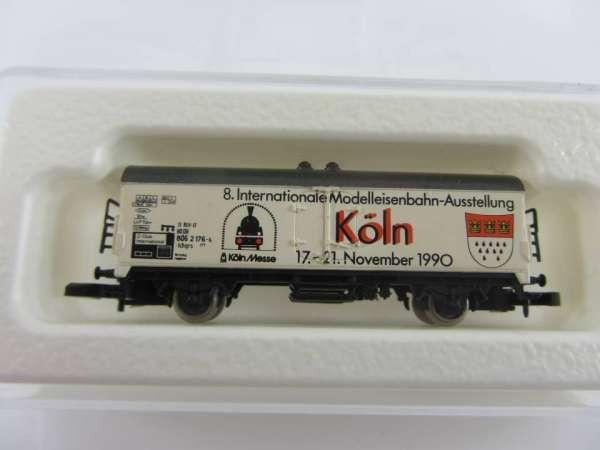 Märklin 8600 Kühlwagen IMA Messe Köln 1993 von Sonne verblasst mit Box