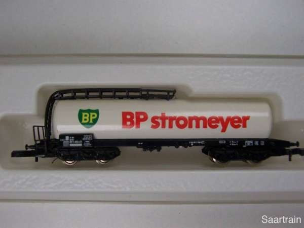 Märklin 8626 Kesselwagen 4 achsig BP Stromeyer mit Originalverpackung